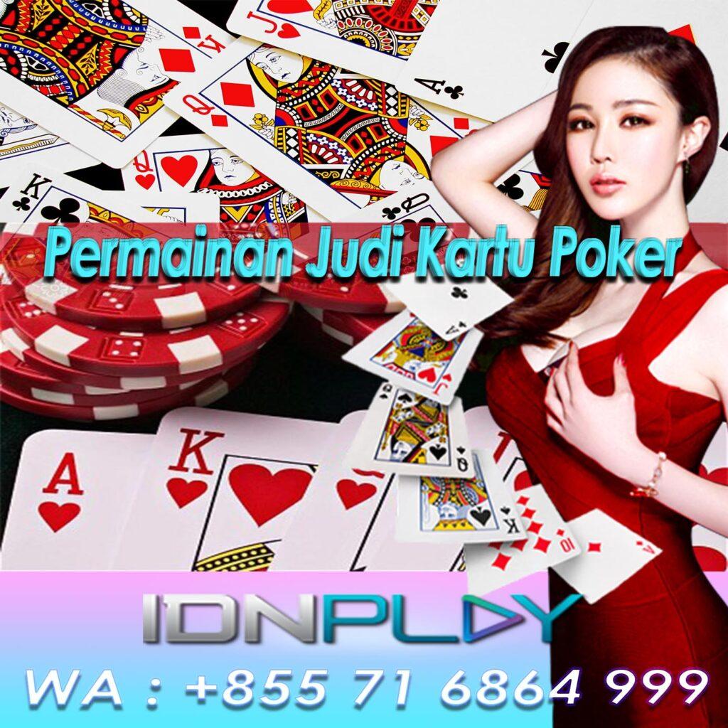 Permainan Judi Kartu Poker